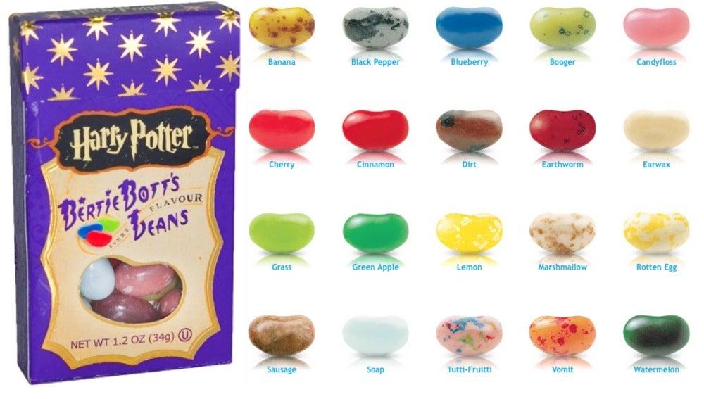 Los caramelicos de Harry Potter. Ascazo...