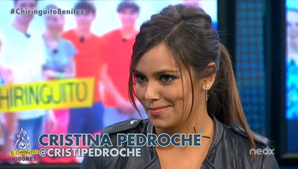 Cristina Pedroche visita 'El Chiringuito de Jugones'