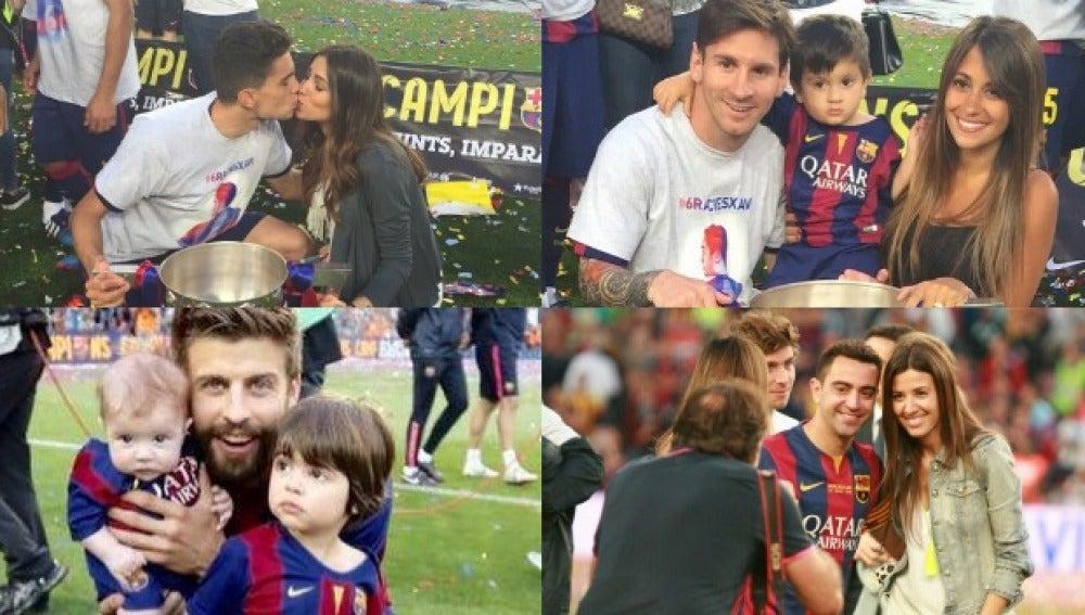 El Barça campeón de Liga