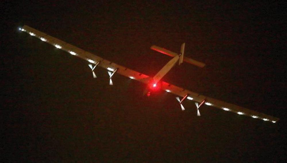 El Solar Impulse II parte desde China con la misión de cruzar el Pacífico