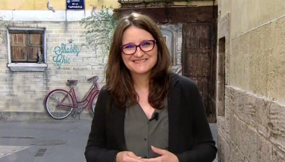 Mónica Oltra, edil de Compromís en la Comunidad Valenciana
