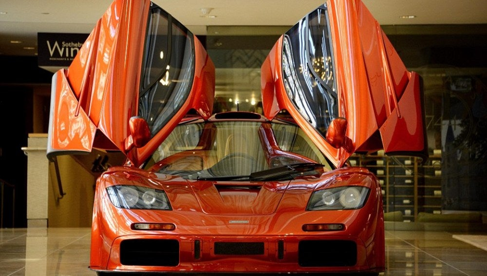 Nuevo modelo de McLaren que será de once millones de euros.
