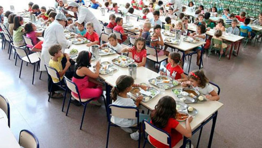 El comedor de un colegio