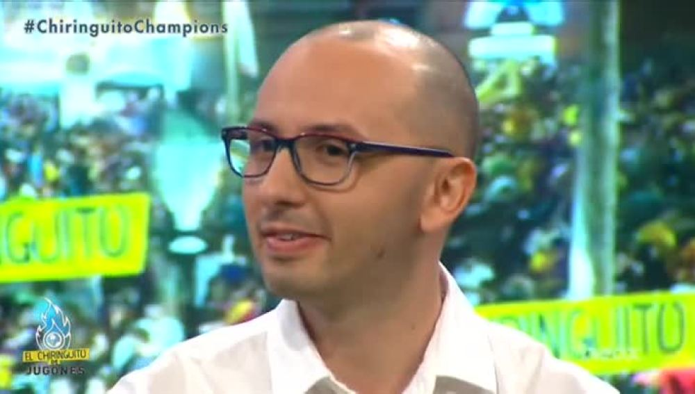 Enrico Marini, periodista de 'Corriere dello Sport'