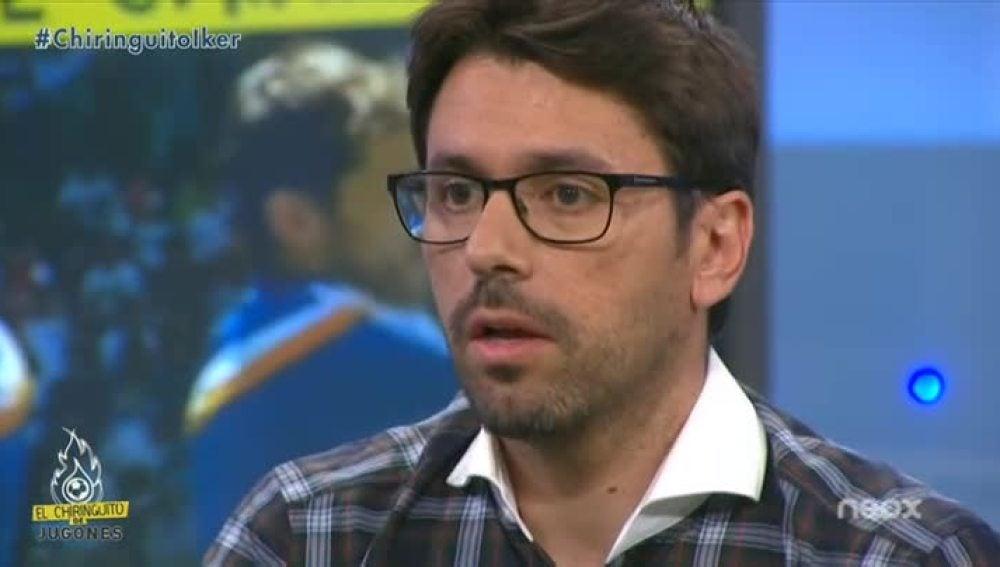 Roberto Morales, en 'El Chiringuito de Jugones'