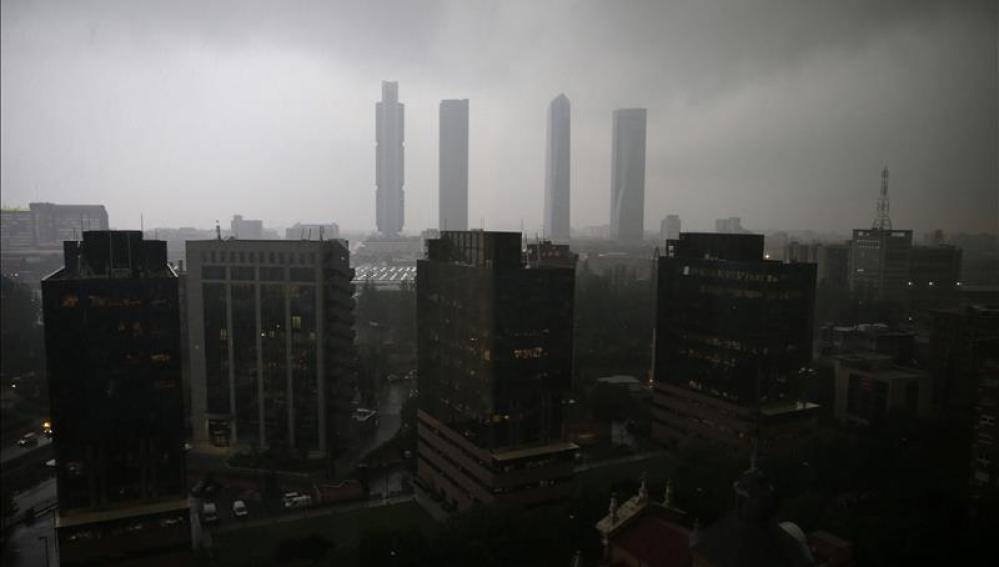 Lluvias en Madrid