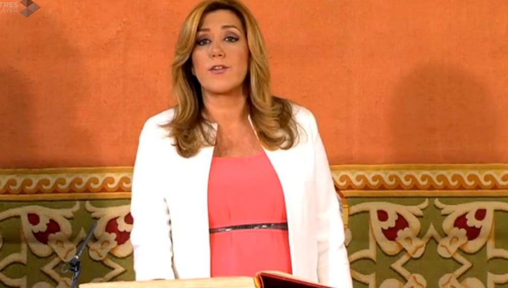 Susana Díaz toma posesión como presidenta de Andalucía