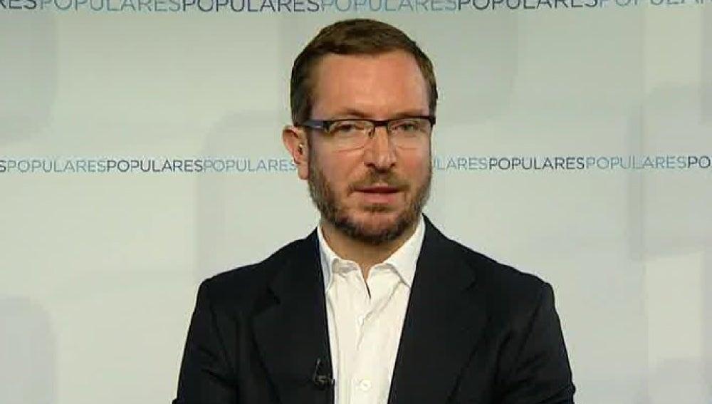 Javier Maroto, candidato del PP a la Alcadía de Vitoria, en Espejo Público