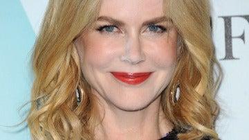 Nicole Kidman, con exceso de maquillaje