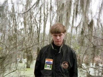 Dylann Roof, autor del tiroteo en una iglesia de EEUU