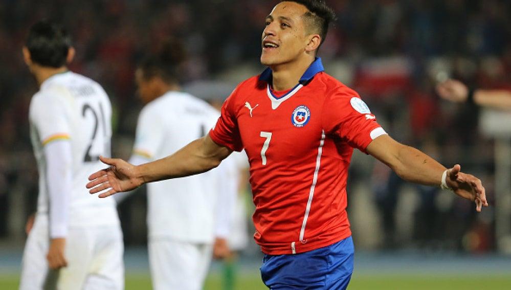 Goleada de Chile liderada por Alexis