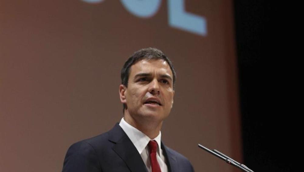 Pedro Sánchez, proclamado candidato del PSOE