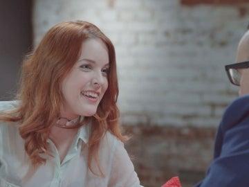 Amarna Miller se ríe con Risto Mejide en 'Al rincón de pensar'