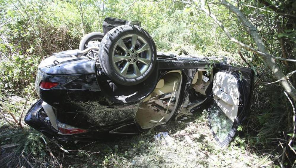 Accidente de tráfico en Pontevedra en el que murió una persona