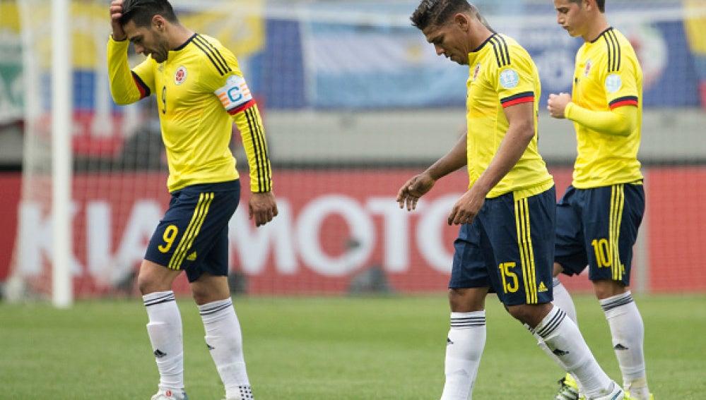 Colombia abandona el campo decepcionada