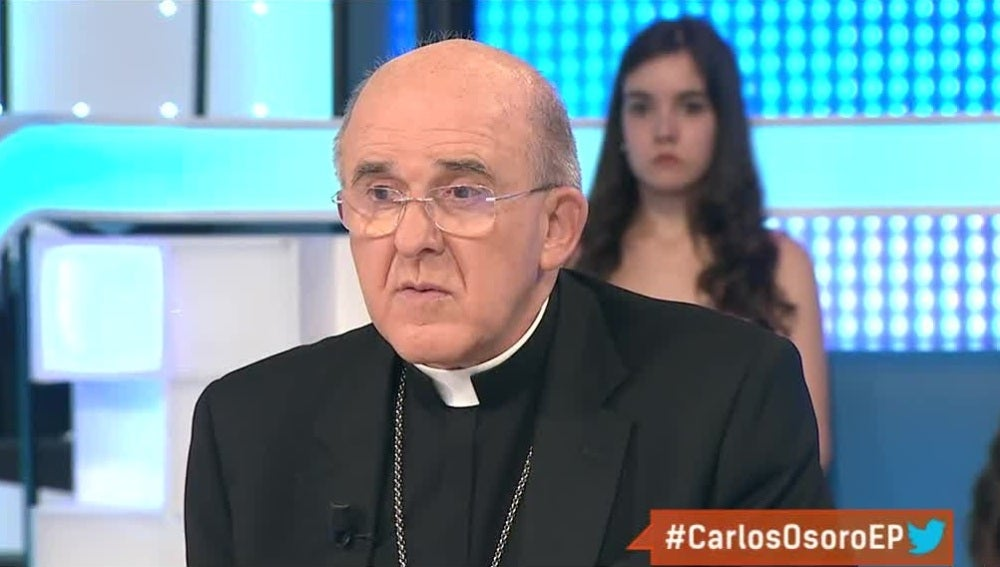 Carlos Osoro, arzobispo de Madrid y vicepresidente de la Conferencia Episcopal