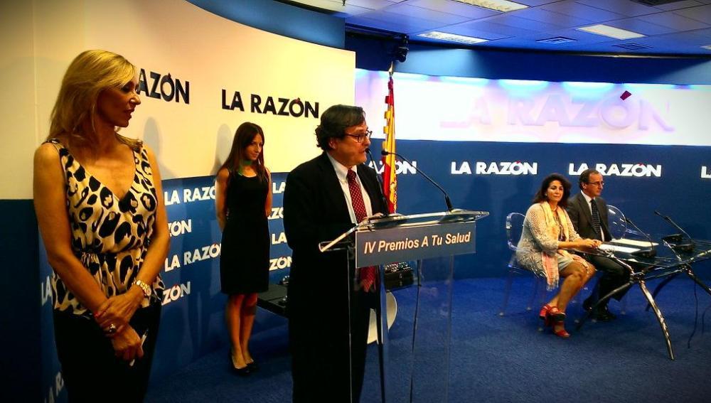 Francisco Marhuenda, director de La Razón, en los premios 'A tu salud'