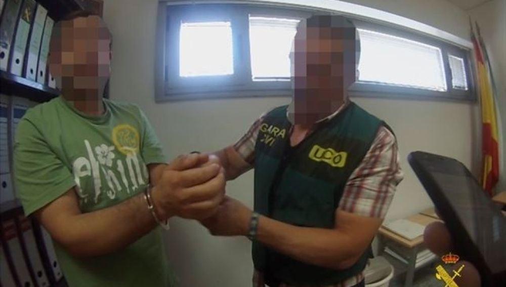 El veterinario detenido