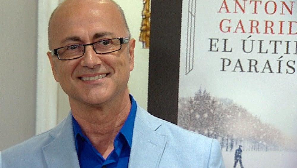 Antonio Garrido, autor de 'El último paraíso'