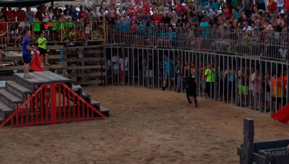 Festejo taurino en L'Ampolla (Tarragona)