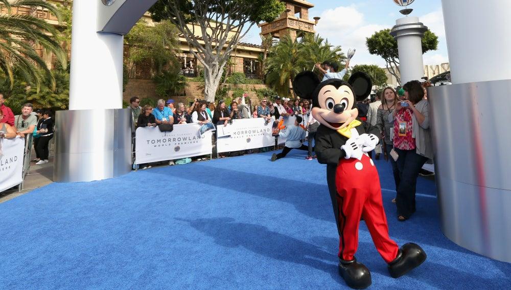 Mickey Mouse, en DisneyLand