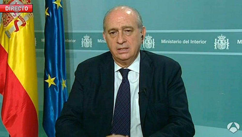 Jorge Fernández Díaz, en Antena 3