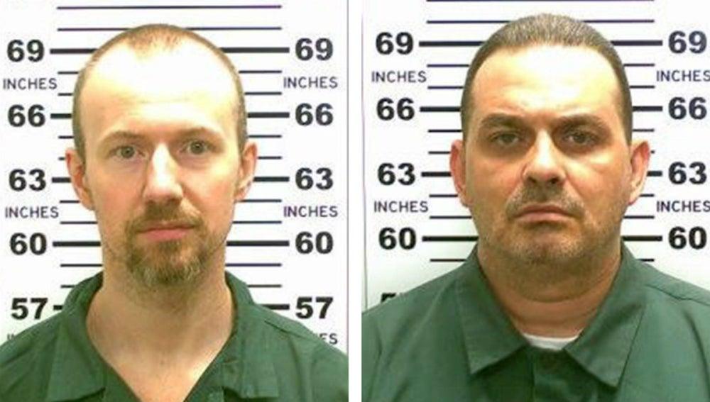 Los dos presos fugados de Nueva York
