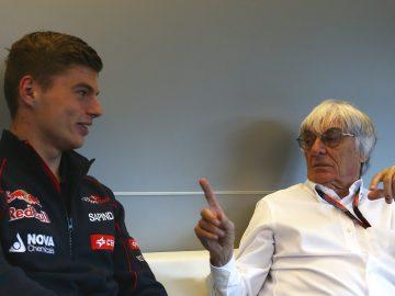 Verstappen, con Ecclestone