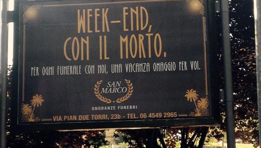 Una funeraria italiana regala una noche de hotel por cada servicio contratado