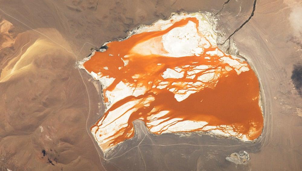 Lago en Bolivia