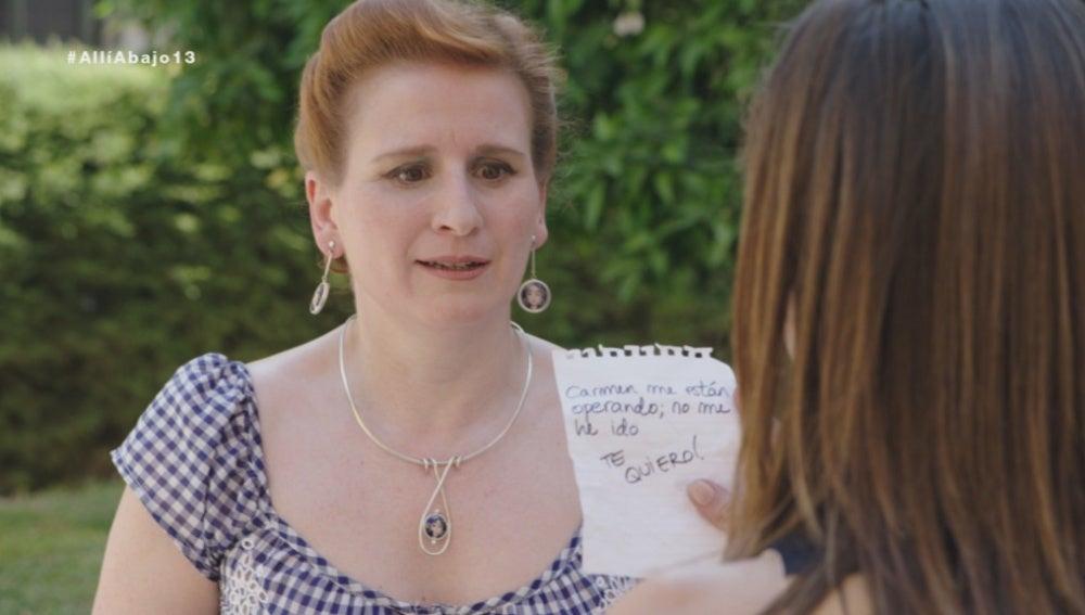 'La mensajera del amor' llega a tiempo para darle la nota a Carmen