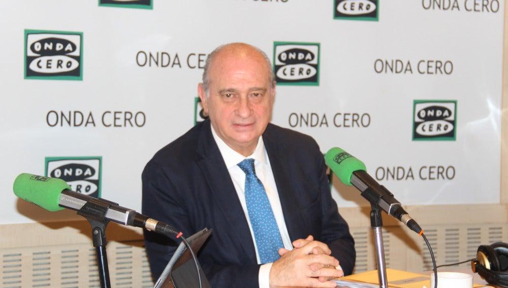 Ministro del Interior, Jorge Fernández Díaz, en Onda Cero