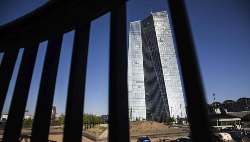 Vista de la sede del Banco Central Europeo
