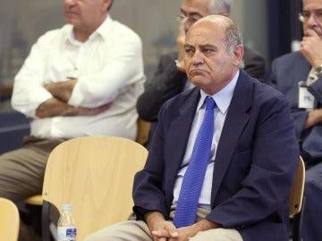 Díaz Ferrán, durante el juicio que se celebra en la Audiencia Nacional por el vaciamiento patrimonial de Marsans