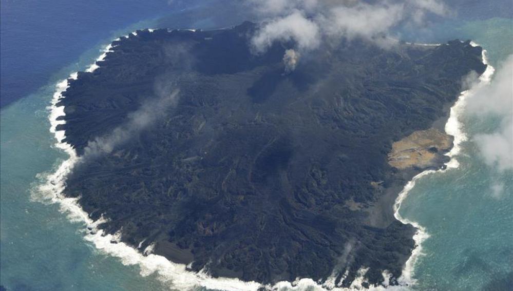 Isla japonesa de Nishinoshima