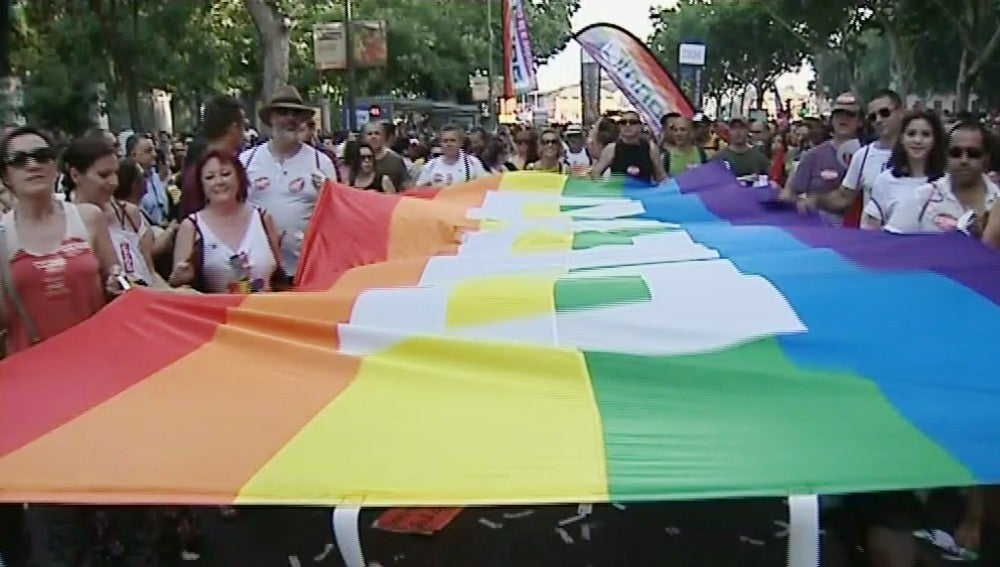 Orgullo gay en Madrid