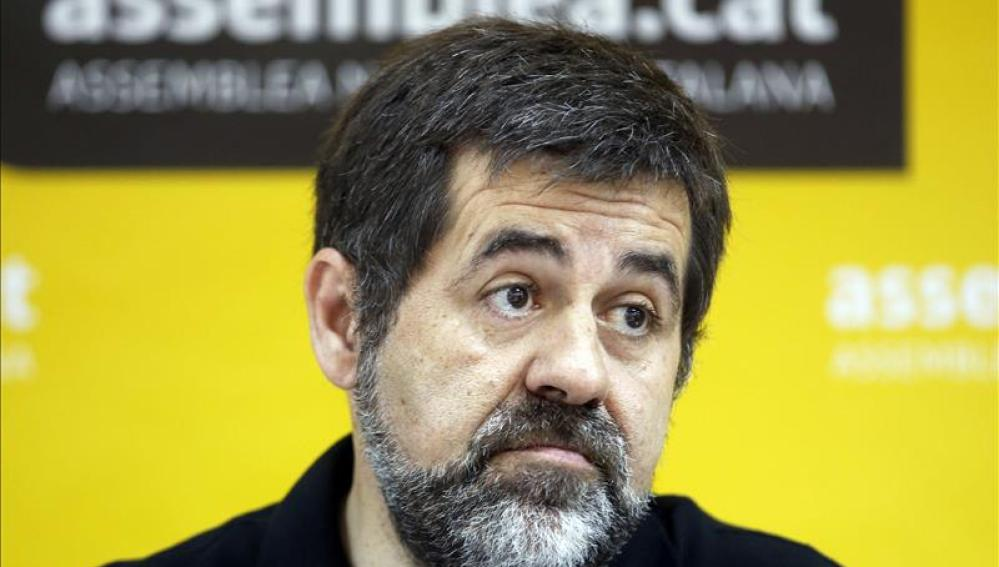 El presidente de la Asamblea Nacional de Cataluña (ANC), Jordi Sanchez