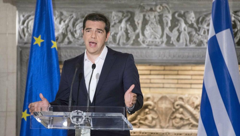 Tsipras comparece tras el 'no' del referéndum