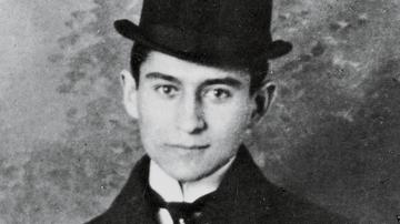 El escritor Franz Kafka