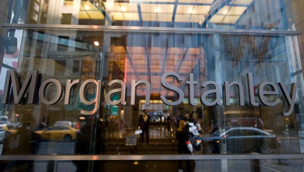 Fachada de la sede de Morgan Stanley.