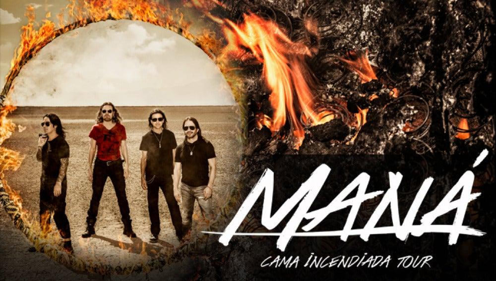 'Cama Incendiada Tour'