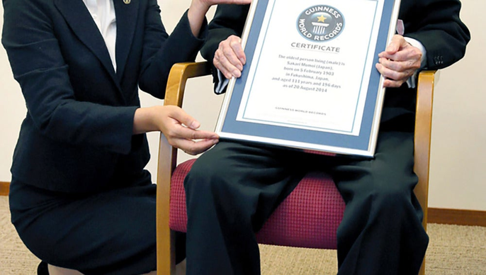 Sakari Momoi fue nombrado por Guiness como el hombre más viejo del mundo