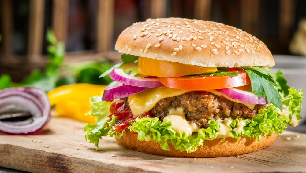 Cómo preparar una hamburguesa sana