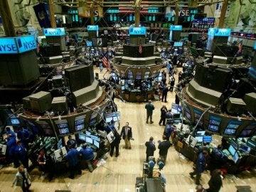 Imagen general de la Bolsa de Nueva York.