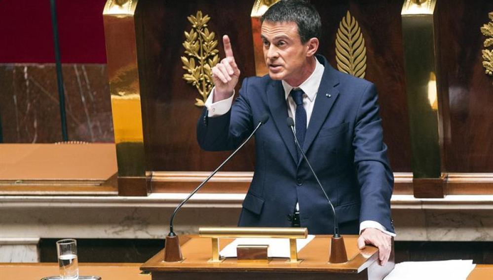 Manuel Valls, el primer ministro francés