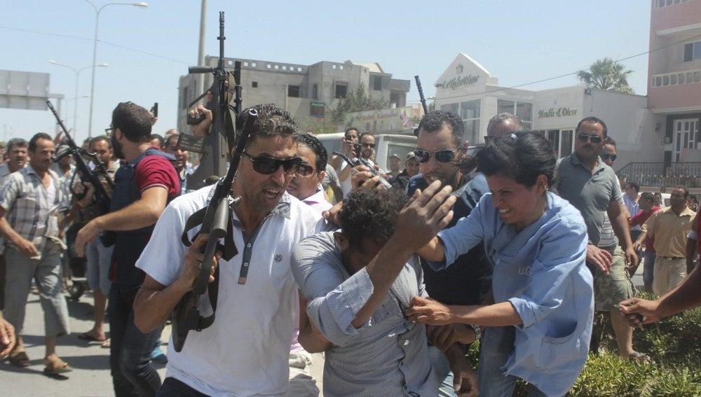 Detención de uno de los presuntos colaboradores del terrorista de Susa