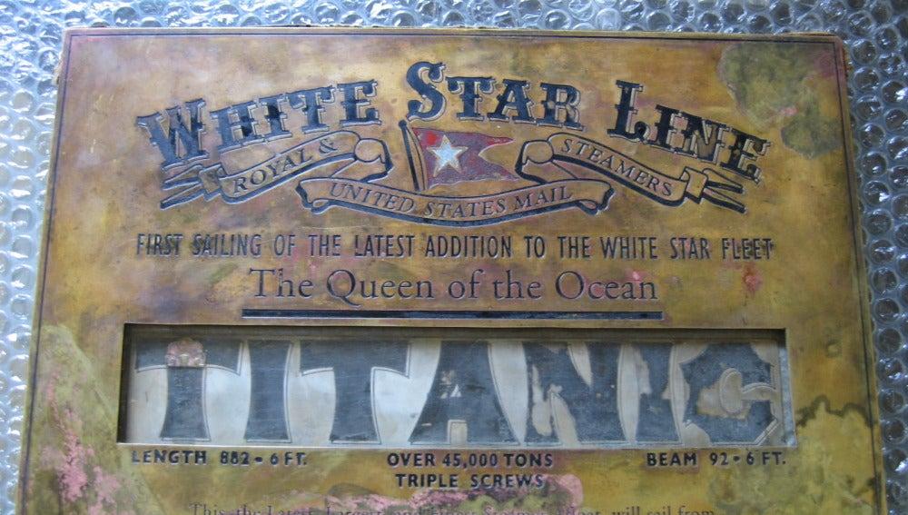 Placa del Titanic