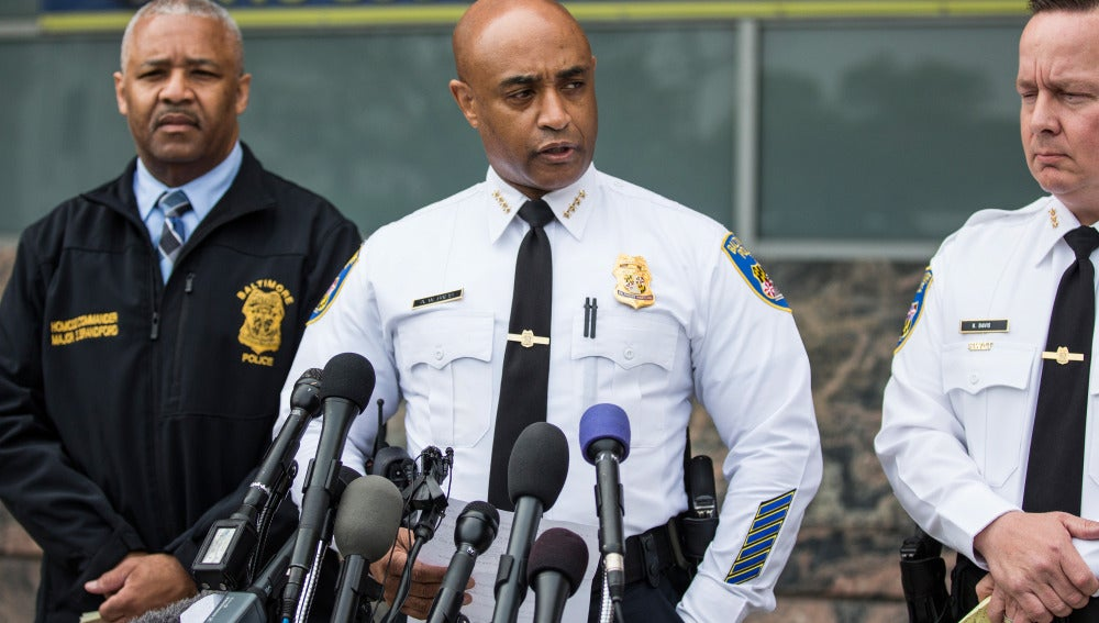 Jefe de Policía de Baltimore, Anthony Batts