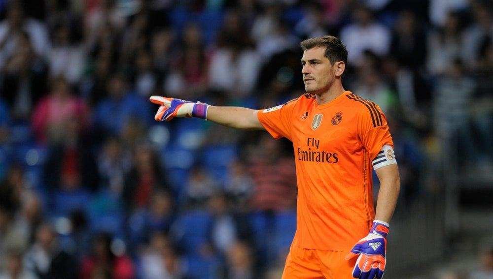 Iker Casillas, jugador del Oporto