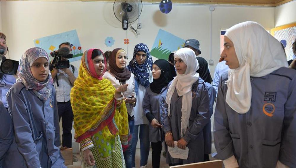 Malala abre un centro de secundaria